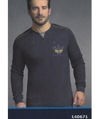Pánské pyžamo navigare 140671 Tm. modrá