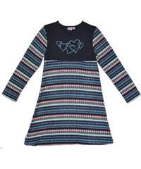 Topo Dívčí vzorované šaty se srdíčky
