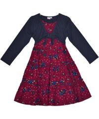 Topo Dívčí šaty s bolérkem - červené