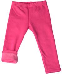 Topo Dívčí zateplené legíny - růžové