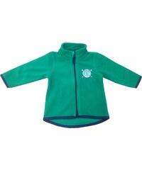 Blue Seven Chlapecká fleecová mikina - zelená