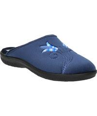 Baťa Dámská domácí obuv s výšivkou