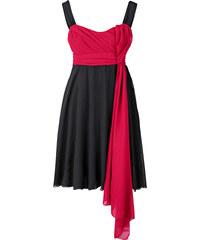 BODYFLIRT Abendkleid ohne Ärmel in rot von bonprix