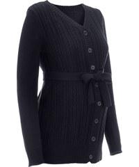 bpc bonprix collection Umstandsstrickjacke langarm in schwarz für Damen von bonprix
