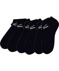 Venice Beach Damenfüßlinge (6er-Pack) in schwarz für Damen von bonprix