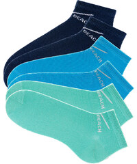 Venice Beach Damenfüßlinge (6er-Pack) in blau für Damen von bonprix