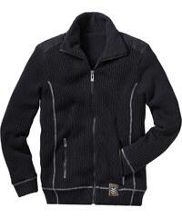 RAINBOW Outdoor-Strickjacke langarm in schwarz für Herren von bonprix