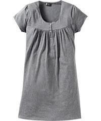 bpc bonprix collection Schwangerschafts-Nachthemd kurzer Arm in grau für Damen von bonprix