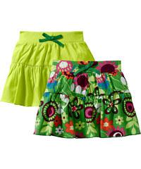 bpc bonprix collection Rock (2er-Pack) in grün für Mädchen von bonprix