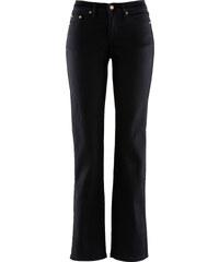 John Baner JEANSWEAR Stretch-Jeans Schlankmacher, Kurz in schwarz für Damen von bonprix
