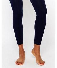 Plush - Collants sans pieds doublés de polaire - Bleu marine