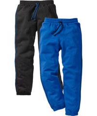 bpc bonprix collection Sweathose (2er-Pack) in schwarz für Jungen von bonprix