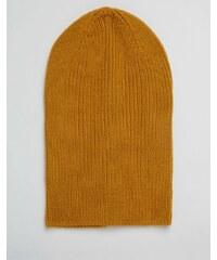 ASOS - Bonnet souple - Mustard - Jaune