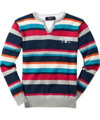 bpc bonprix collection Pullover langarm in grau für Jungen von bonprix