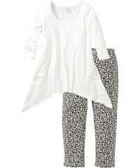 bpc selection Capri Pyjama 3/4 Arm in weiß für Damen von bonprix