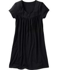 bpc bonprix collection Schwangerschafts-Nachthemd kurzer Arm in schwarz für Damen von bonprix