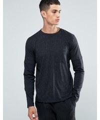 Another Influence - T-shirt à manches et superposition - Noir