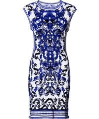 BODYFLIRT boutique Kleid/Sommerkleid kurzer Arm in weiß von bonprix
