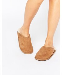 Just SheepSkin - Pantoffeln - Braun