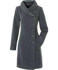 BODYFLIRT Mantel langarm in grau für Damen von bonprix