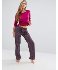 Calvin Klein - Portia - Coffret-cadeau pyjama de Noël - Violet