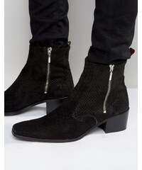 Jeffery West - Manero - Bottines zippées - Noir