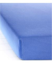 bpc living Spannbettlaken Jersey First Class in blau von bonprix