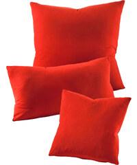 bpc living Kissenhülle Jersey (2er-Pack) in rot von bonprix