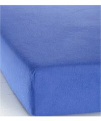 bpc living Spannbettlaken Biber in blau von bonprix
