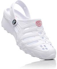 Skechers EVA-Clog mit 3 cm Flach in weiß von bonprix