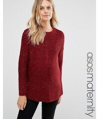 ASOS Maternity - Ultimate - Grobstrickpullover - Rot