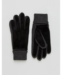 Dents - Kendal - Gants en daim - Noir - Noir