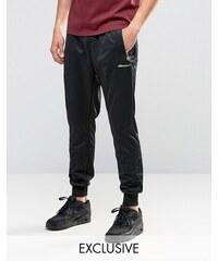 Ellesse - Pantalon de jogging skinny avec logo doré - Noir