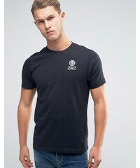 Franklin & Marshall Franklin and Marshall - T-shirt avec logo écusson - Noir
