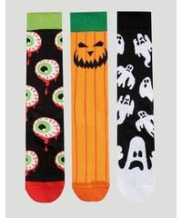 ASOS - Halloween - Lot de 3 paires de chaussettes - Multi