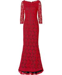 BODYFLIRT boutique Kleid 3/4 Arm in pink von bonprix