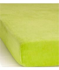bpc living Spannbettlaken Nicki in grün von bonprix