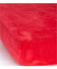 bpc living Spannbettlaken Nicki in rot von bonprix