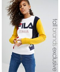 Fila Tall - Pull contrasté avec motif - Multi
