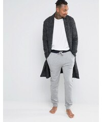 ASOS Loungewear - Pantalon de jogging skinny avec taille contrastante - Gris