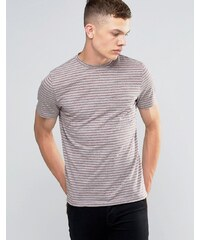 Another Influence - T-shirt rayé - Gris