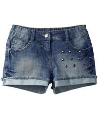 John Baner JEANSWEAR Jeansshorts in blau für Mädchen von bonprix