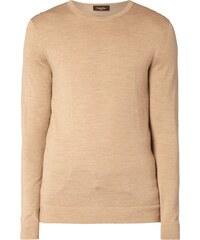 Calvin Klein Pullover aus reiner Wolle - leicht meliert
