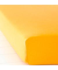 bpc living Spannbettlaken Jersey in orange von bonprix