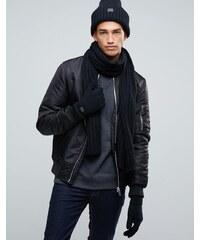 G-Star - Coffret-cadeau bonnet, écharpe et gants - Gris
