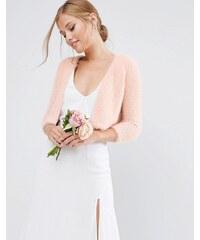 ASOS Wedding - Boléro en maille - Rose