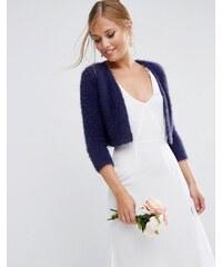 ASOS - Wedding - Strick-Kimono - Marineblau