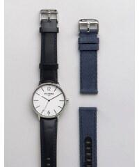 Ben Sherman - Coffret cadeau avec bracelet-montre interchangeable - Noir