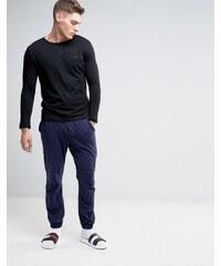 Tommy Hilfiger - Ensemble pyjama avec pantalon de jogging - Bleu