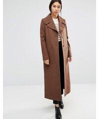 Cooper & Stollbrand - Langer Trenchcoat aus Wolle in Camel - Beige